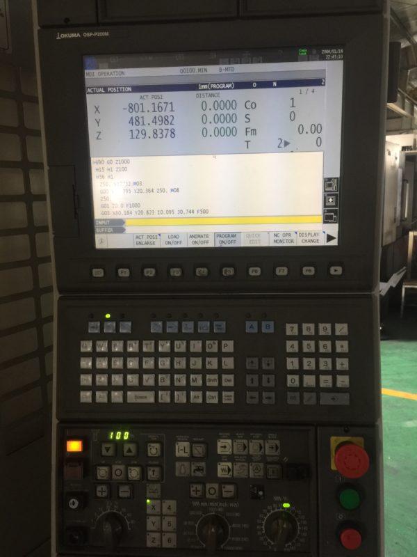 Màn hình máy CNC Okuma