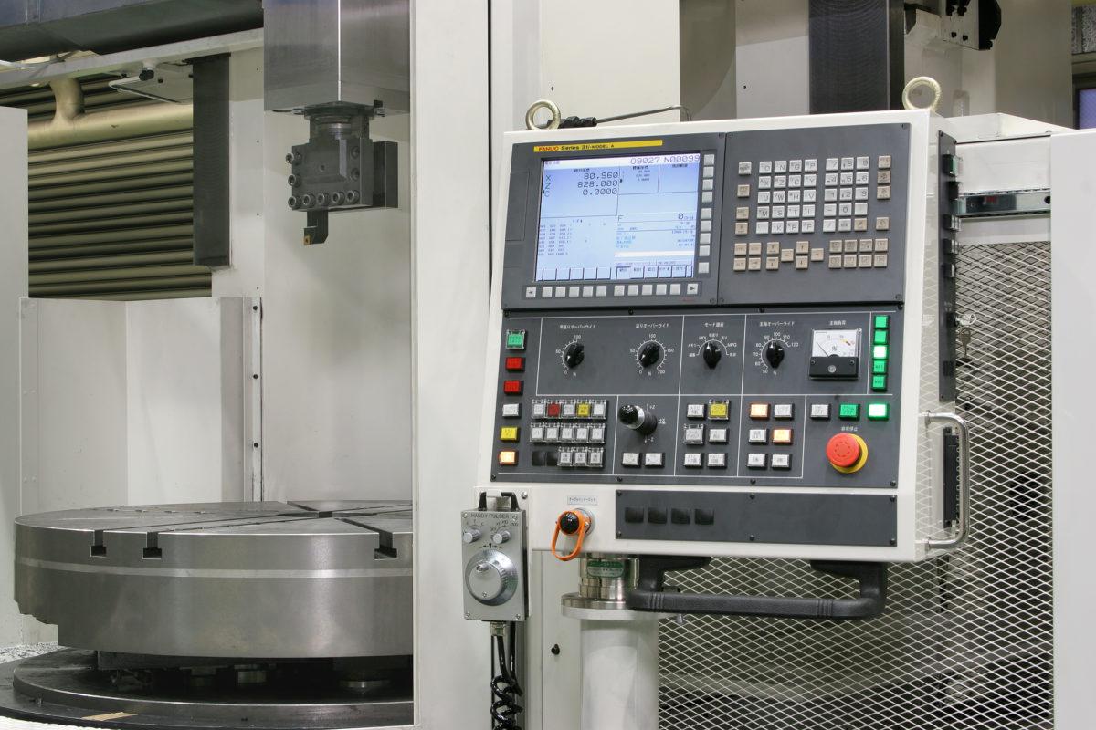 Màn hình điều khiển máy tiện đứng CNC Toshiba