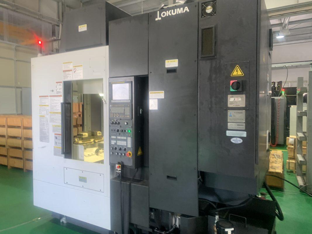Lắp đặt máy cnc okuma
