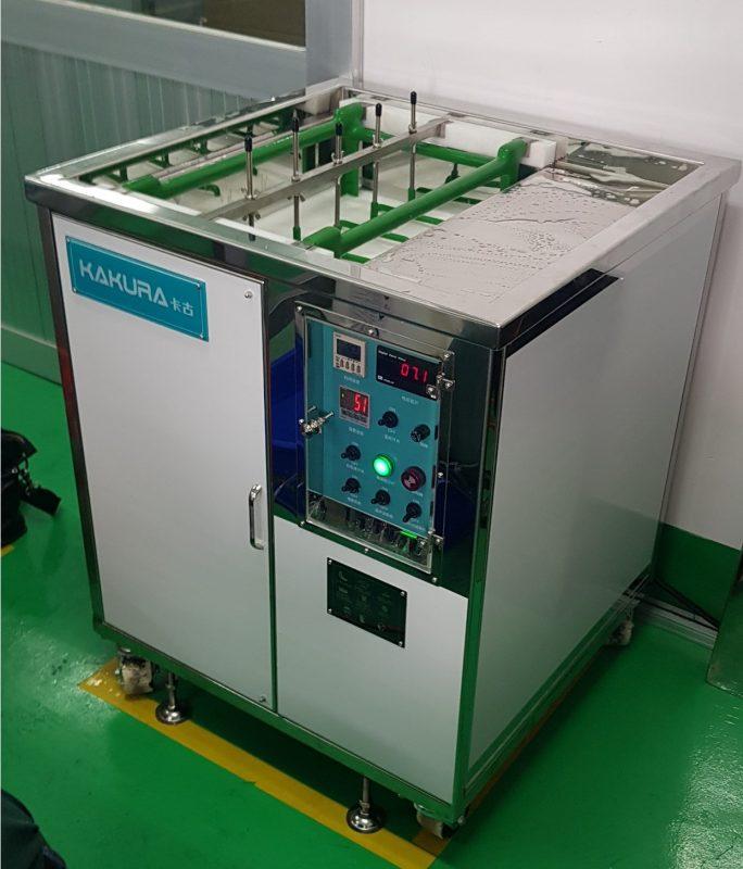 Lắp đặt máy rửa khuôn tại công ty Kyoritsu Busan 1