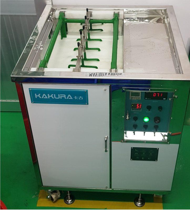 Lắp đặt máy rửa khuôn tại công ty Kyoritsu Busan 2