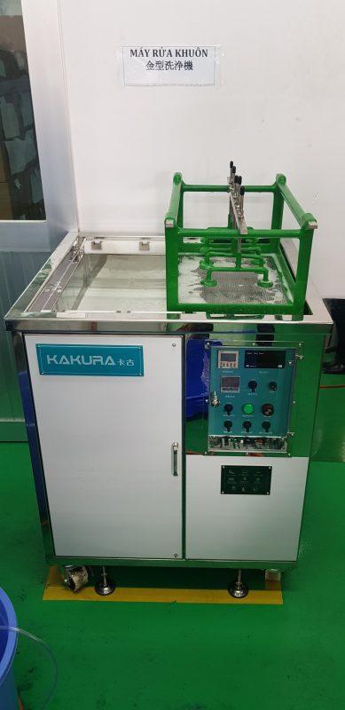 Lắp đặt máy rửa khuôn tại công ty Kyoritsu Busan 4