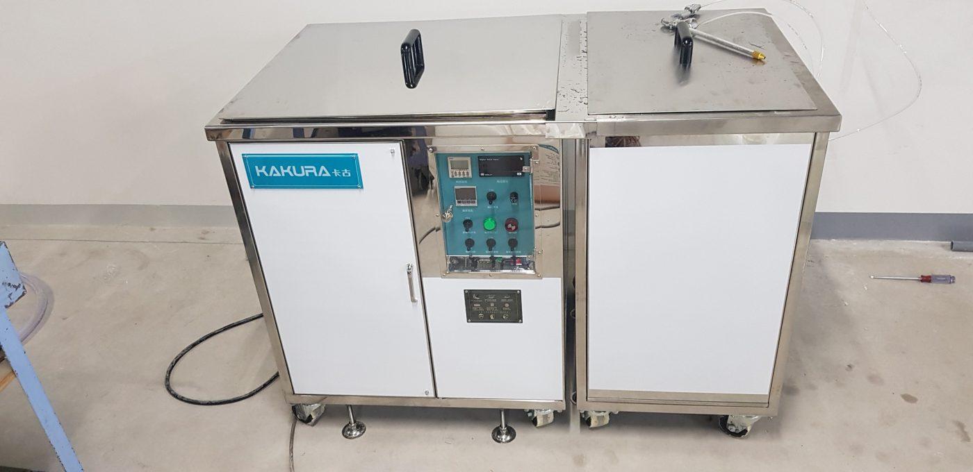 lắp đặt máy rửa khuôn tại công ty fukivi việt nam 2