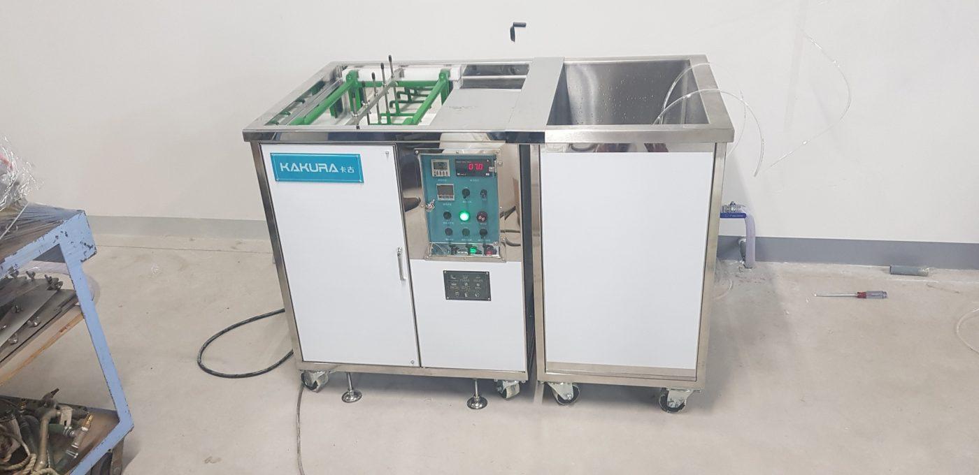 lắp đặt máy rửa khuôn tại công ty fukivi việt nam 5