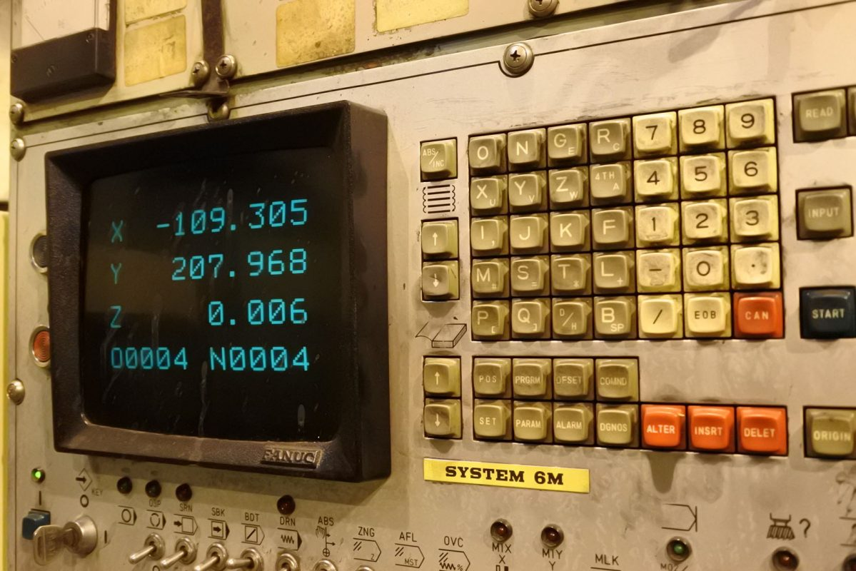 Lỗi bộ điều khiển Fanuc 6