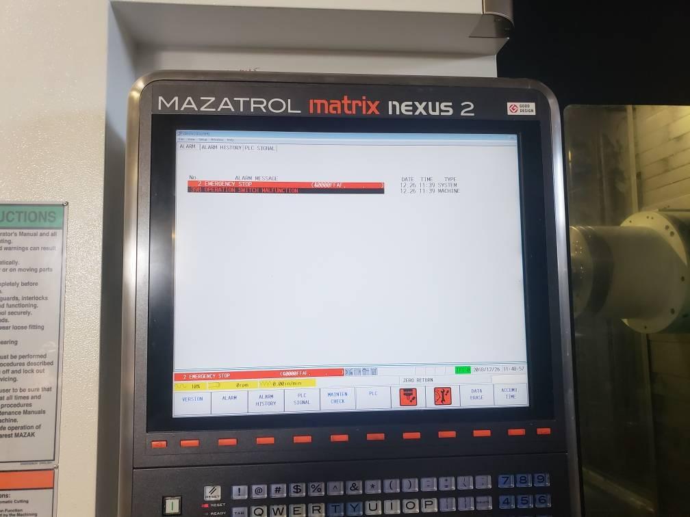 Lỗi màn hình máy CNC mazak