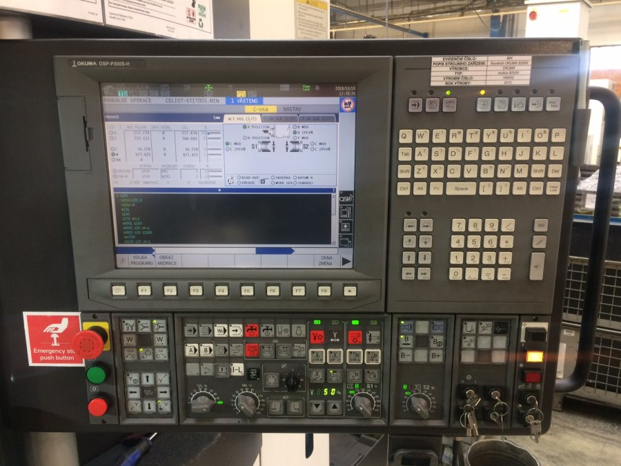 Lỗi máy CNC Okuma