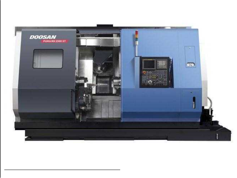 Lỗi máy CNC Doosan MX